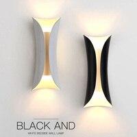 Do Norte Da nova Europa Simples Moderna lâmpada de Parede Do Corredor Quarto lâmpada de Cabeceira Escadas Varanda Corredor do Fundo da parede Personalidade