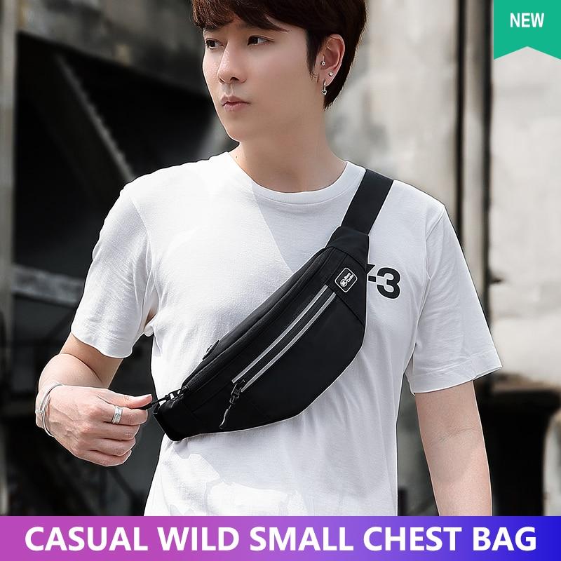 PISU Black Waterproof Wallet Male Outdoor Sports Bag Male Running Wallet Bag Small Wallet Telephone Bag Receiving Wallet