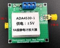 ADA4530 1 10G ohm fA level electrometer/transimpedance/photodetector amplifier TIA measurement module