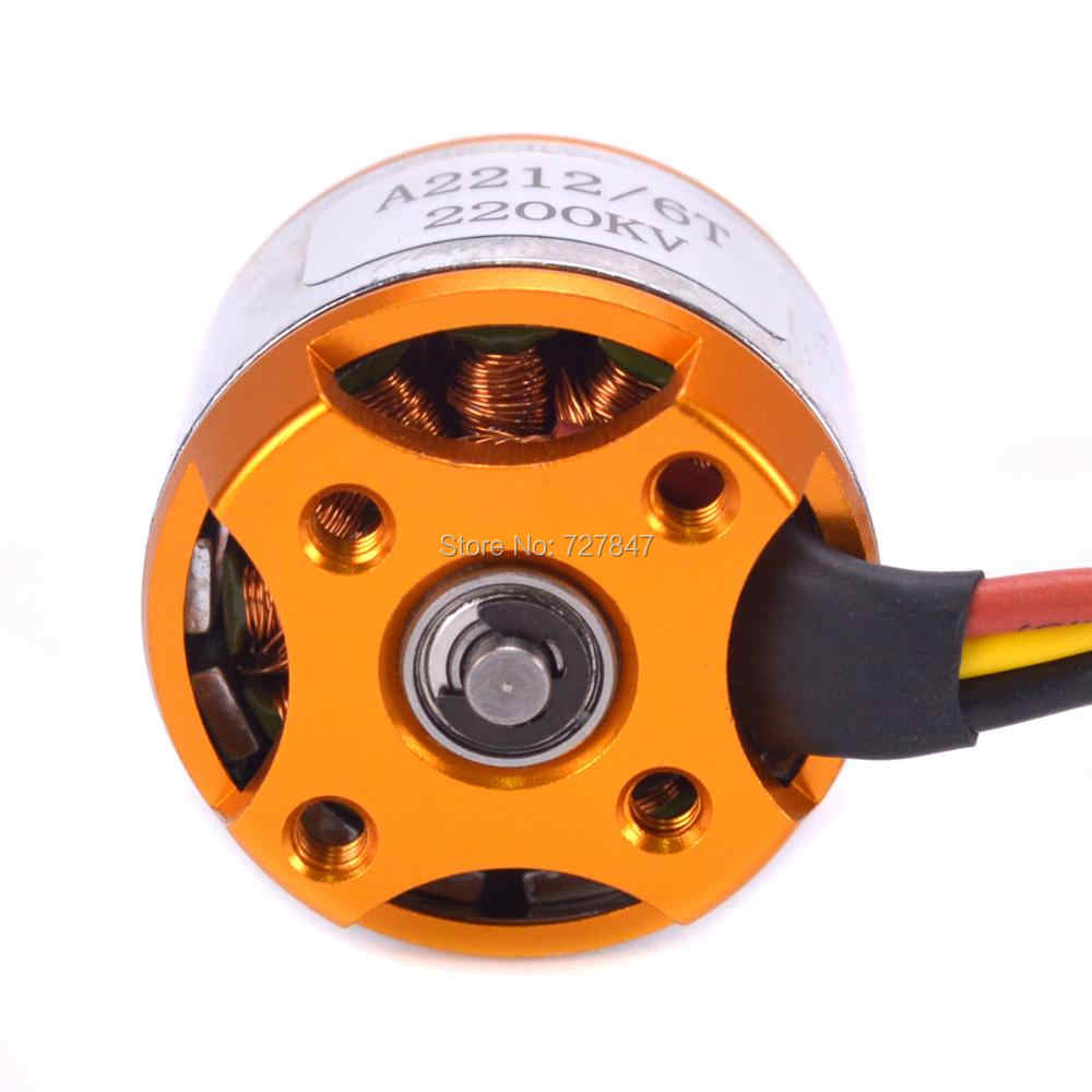 A2212 2212 2200KV / 1400KV Brushless Motor 30A / 40A ESC SG90 9G Micro Servo A2217 1100KV  for RC Fixed Wing Plane Helicopter