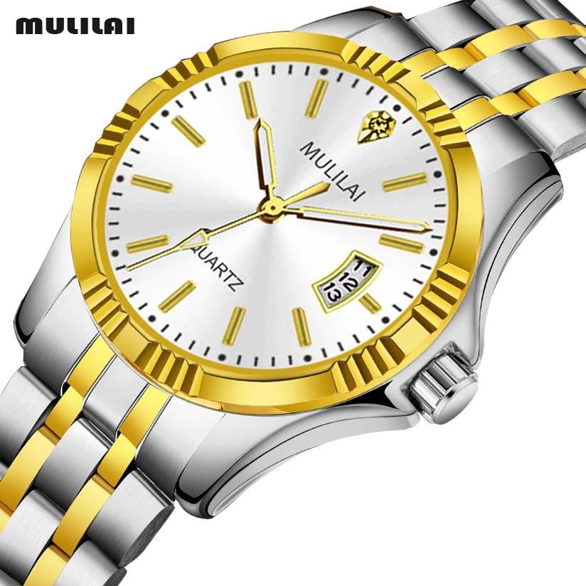 Men's Watches Military Luxury Brand Watch Mens Quartz Stainless Steel Clock Fashion Chronograph Watch Man Relogio Masculino
