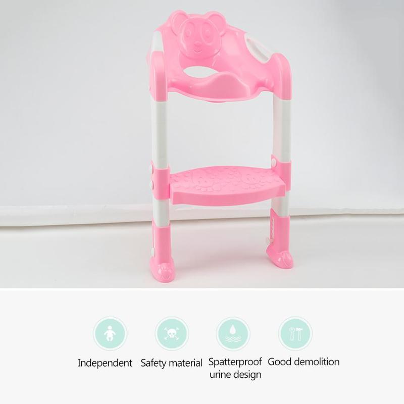 Children Potties Folding Baby Potty Infant Kids Toilet Training Seat with Adjustable Ladder Portable Urinal Potty Training Seats | Happy Baby Mama