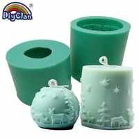 Weihnachten Kerze, Der Form Epoxy Silikon Seife Kerze Form Form Handgemachte Weihnachten Silikon Form Für Gips Gips Diy Werkzeuge