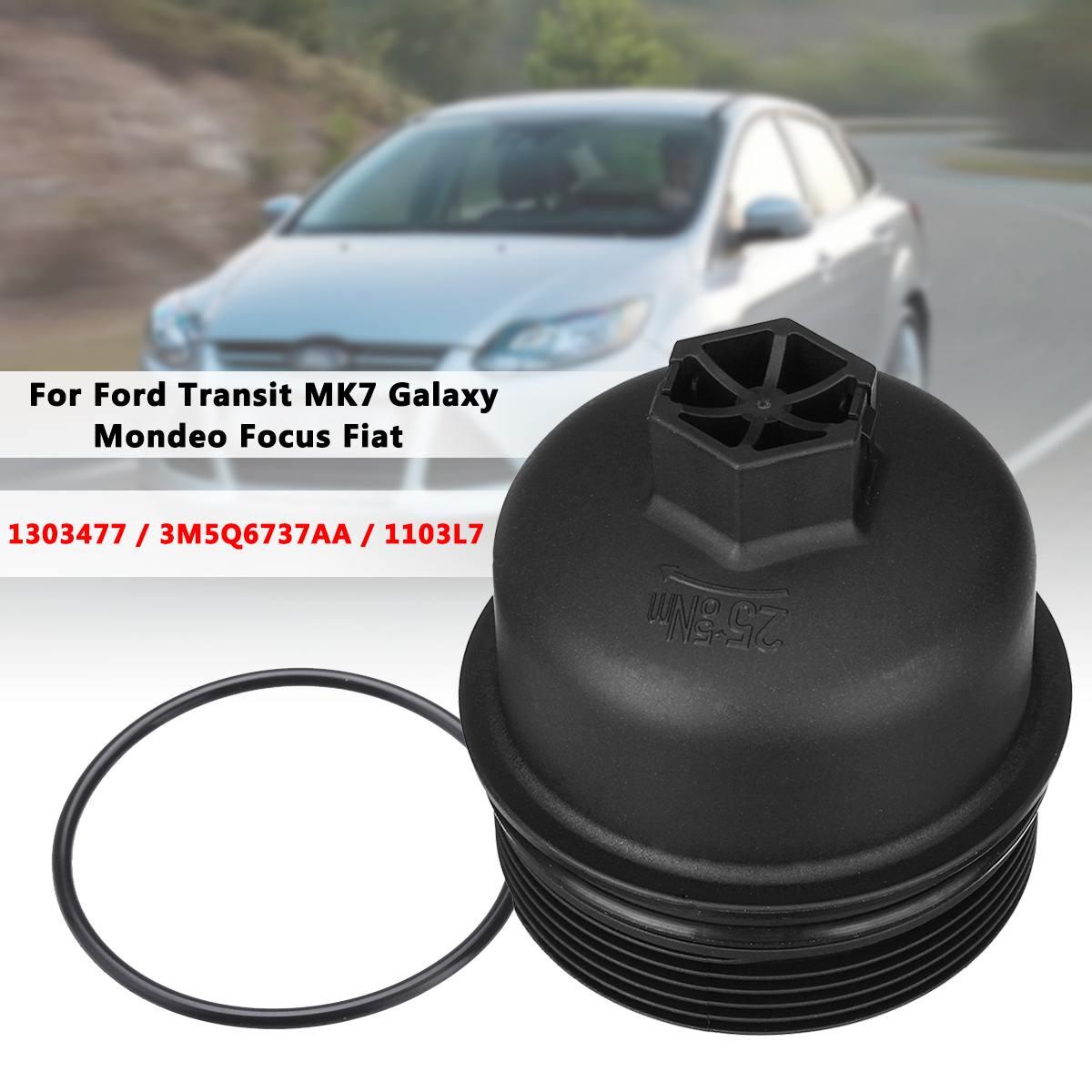 Yağ filtresi Kapak Muhafazası Üst Kapak 3M5Q6737AA 1103L7 1103P8 73500070 Ford Transit MK7/Galaxy/Mondeo/Focus/S-max/C-max /Fiat