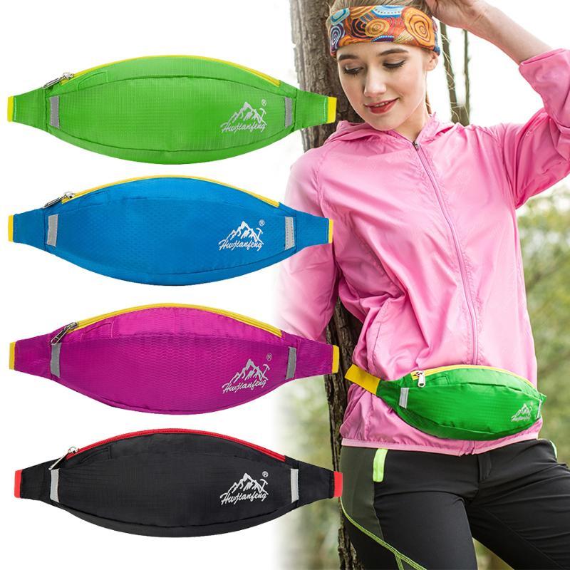 Unisex Outdoor Sports Bum Bag Running Belt Waist Pack Travel Handy Hiking Zip Pouch Money Phone Pack Belt Sport Bag Z60