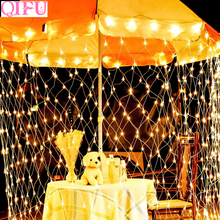 QIFU 220V Garland LED String Light Wedding Decoration Rustic Party Decor Wholesalers Dropshipping
