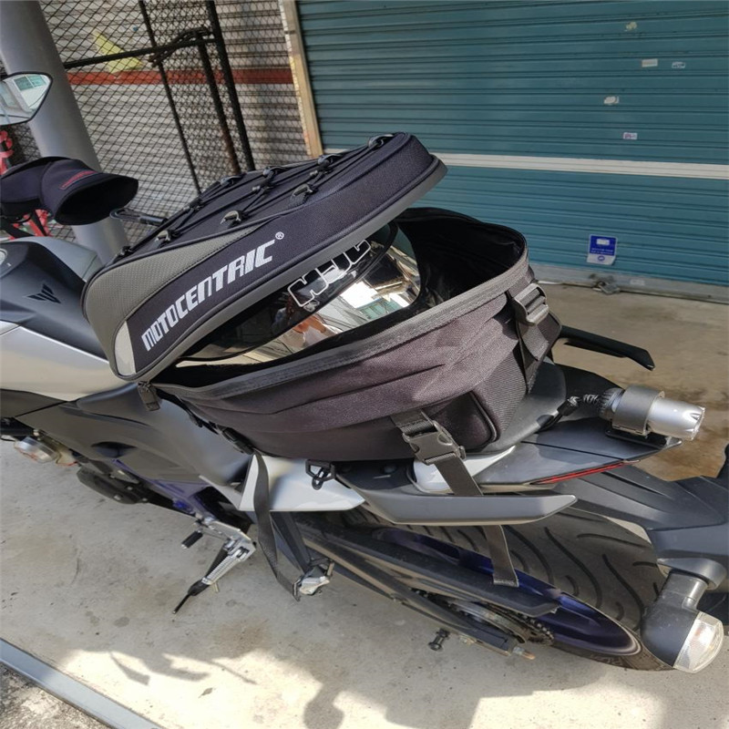MOTOCENTRIC <font><b>Motorcycle</b></font> Sport Luggage Tail Bag Capacity Luggage