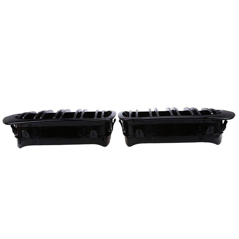 Pour BMW E46 98-01 Performance noir brillant rein Euro Sport accessoires de gril avant pièces de haute qualité