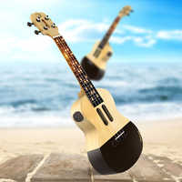 Populele 23 Inch APP LED Bluetooth USB Smart Ukulele Gift For Beginners User-Friendfly Pinao Toy Musical Instrument New