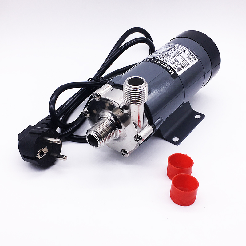 1Pcs Magnetic Drive Pump MP 15R Food Grade 304 Stainless Steel Brewery Beer Home Brew 220V Magnetic Drive High Quality