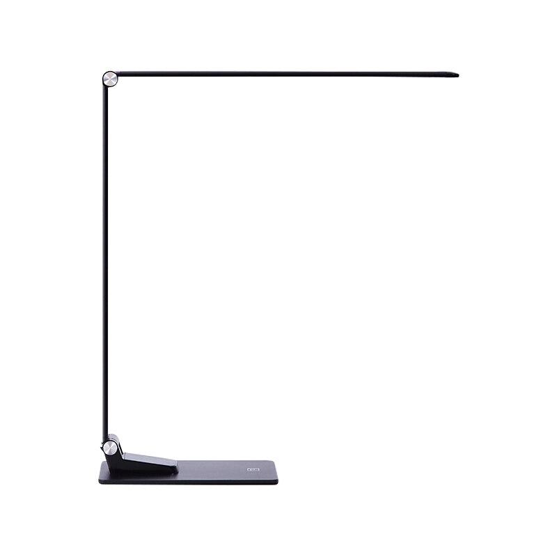 Alliage d'aluminium Long bras Super mince 12 W 6 luminosité 5 températures de couleur USB Charge téléphone pliable lampe bureau Led 220 V pour le travail