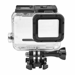 Image 3 - 40 متر تحت الماء مقاوم للماء ل GoPro بطل 7 5 6 أسود عمل كاميرا واقية الإسكان غطاء شل الإطار ل GoPro الإكسسوارات