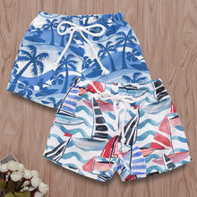 New Summer Beach Baby Infant Boys Shorts Casual Children Pants Pants Clothing Elastic Waist Thin Children's Beach Pants(China)