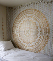 Bedroom hanging cloth decoration digital printed curtain bohemian decor mandala tapestry window tapestry mandala wall fabric