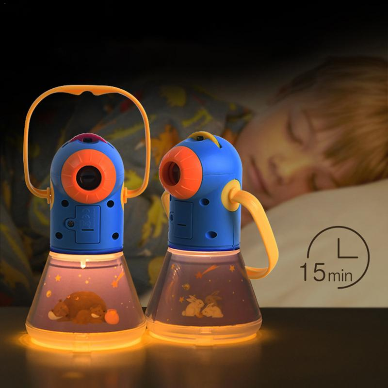 Portable Projector Light Torch Toys Three - In - One Starry Sleeping Light Lamp Baby Toy Night Light Toy For Children Gifts