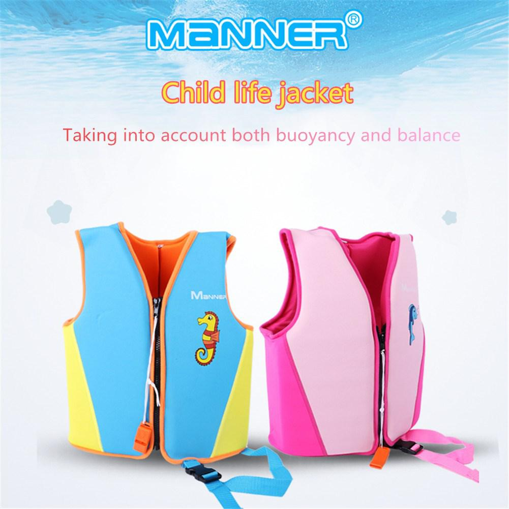 Buoyancy Children Life Vest Swimming High Strength Life Jacket For Water Sports Surfing Swimming S/M/L Kids Baby Safety Vest