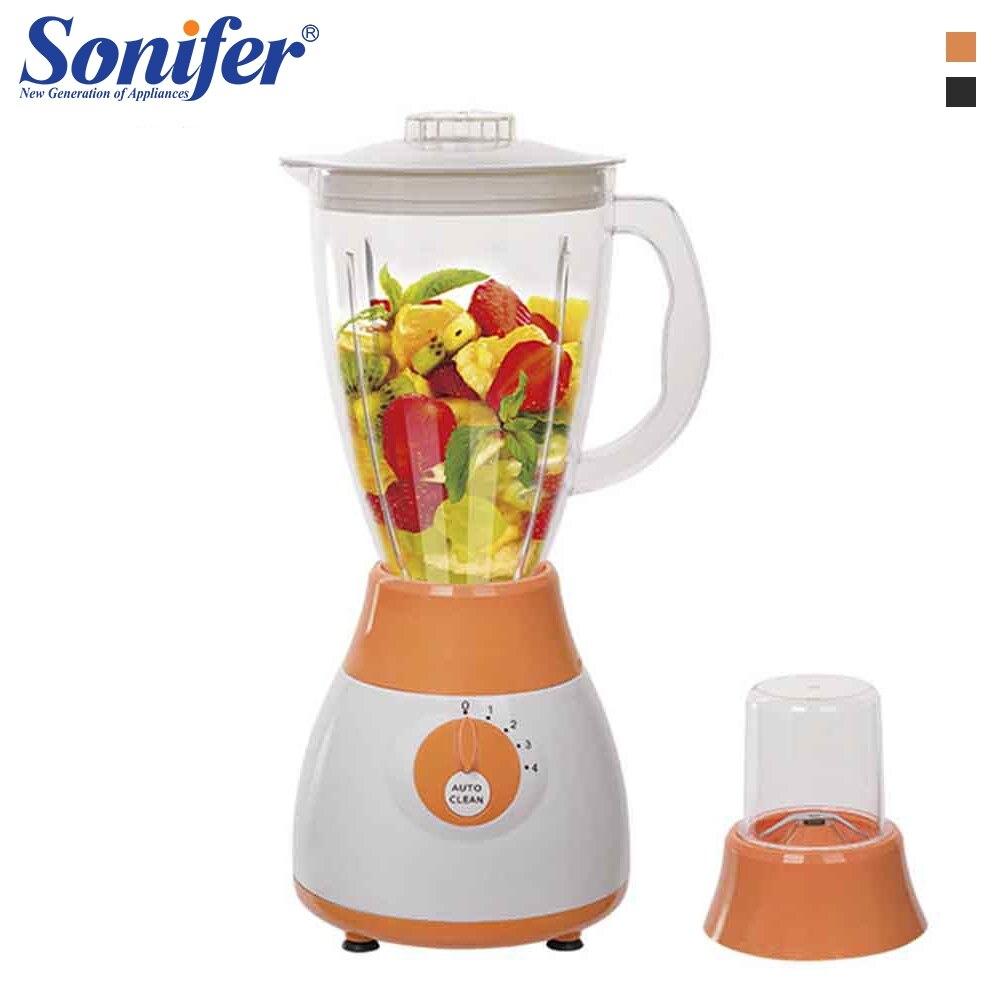 Bunte Multifunktions elektrische lebensmittel mixer mixer küche 4 geschwindigkeiten standing mixer gemüse Fleischwolf stehen mischung Sonifer