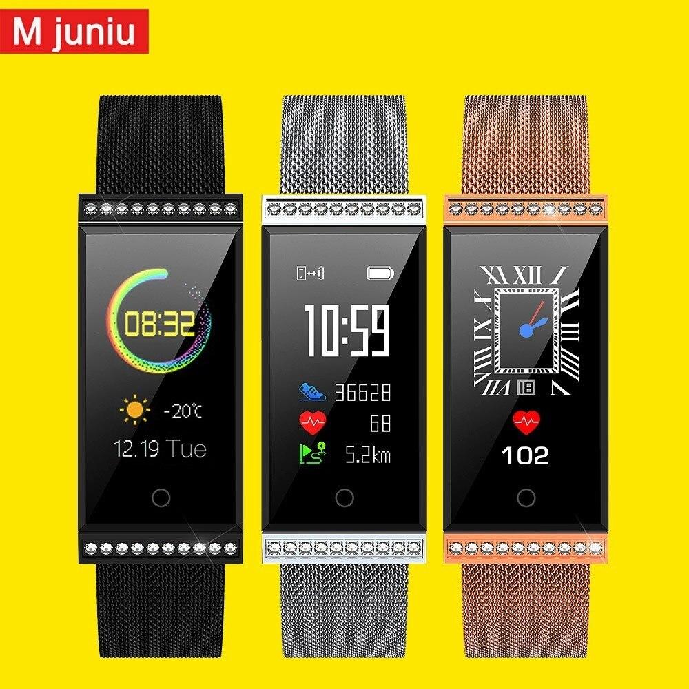 X11 Smart Watch With 20 Diamonds Dynamic Heart Rate Monitor Pedometer Sport Fitness Tracker Waterproof Ip68