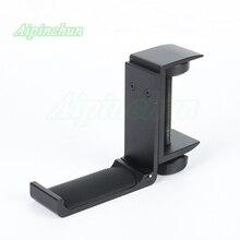 Suporte universal de fones de ouvido, suporte de liga de alumínio para fones de ouvido, gancho de parede dobrável, montagem de mesa