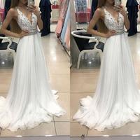 summer white sexy lace elegant party long dress robe femme vestidos women clothing kleider clothes jurken v neck backless elbise