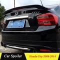 Спойлер для Honda City 2010  высокое качество  АБС-пластик  задний спойлер для Honda City 2008-2014