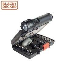 Набор (светодиодный фонарь, отвертка, головки, биты, жилетка) Black&Decker A7224-XJ