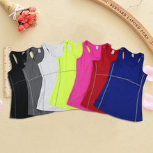 2019 Women Running Sports Tank Top Quick Dry Fitness Gym