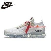 Nik Оригинал X OFF WHITE AIR VAPORMAX OFW Мужская Беговая спортивная обувь спортивные кроссовки удобные # AA3831