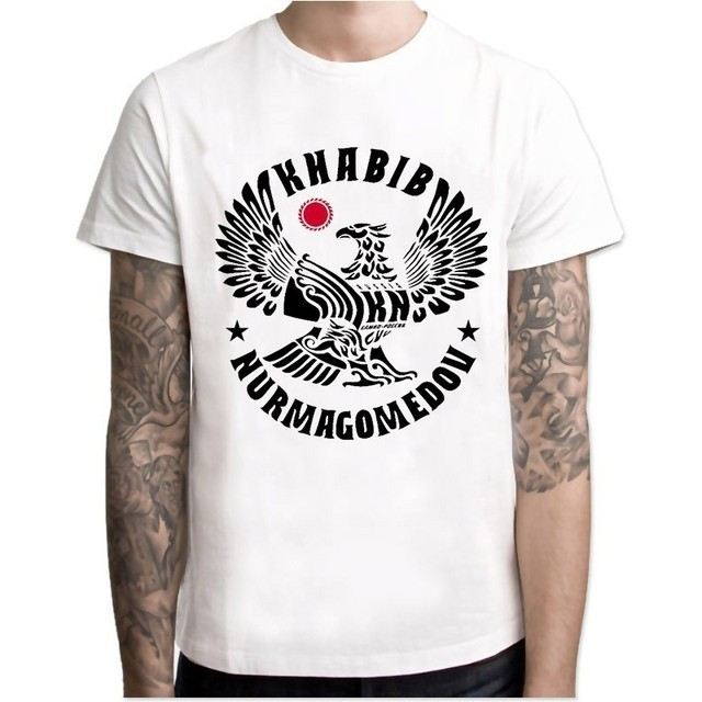 dfd8a0523 Khabib Nurmagomedov Men New Fashion 2018 Ufc Conor Mcgregor Khabib T Shirt  Fitness Novelty Top Tshirt Men High Quality Top Tees