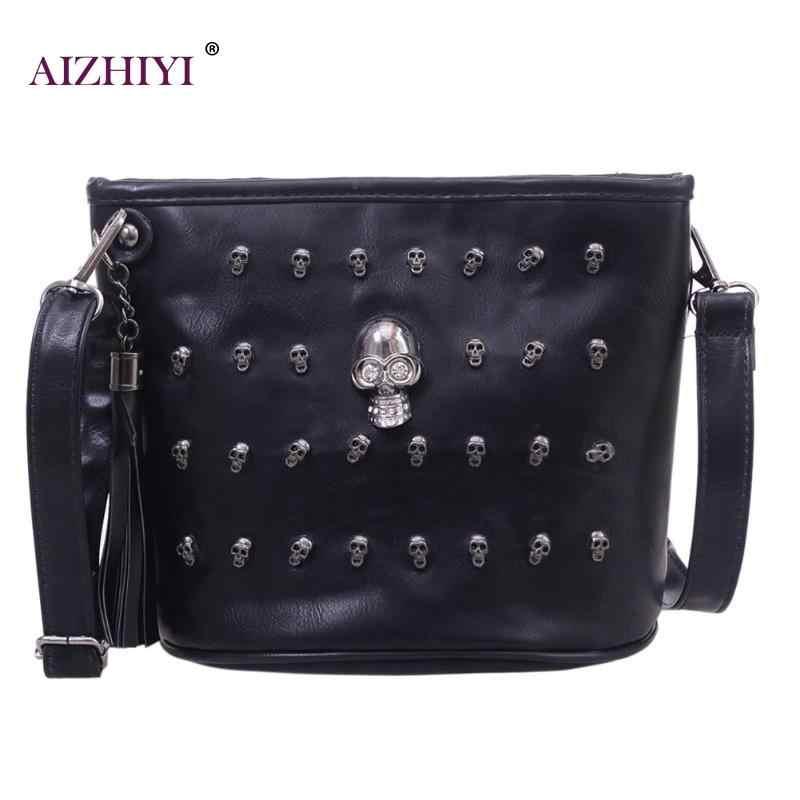 db9925454947 Detail Feedback Questions about Skull Design Women Messenger Bags Handbags  Shoulder Bags Satchel Clutch Girl Black Skull Crossbody Bag Bolsas Borse  Feminina ...