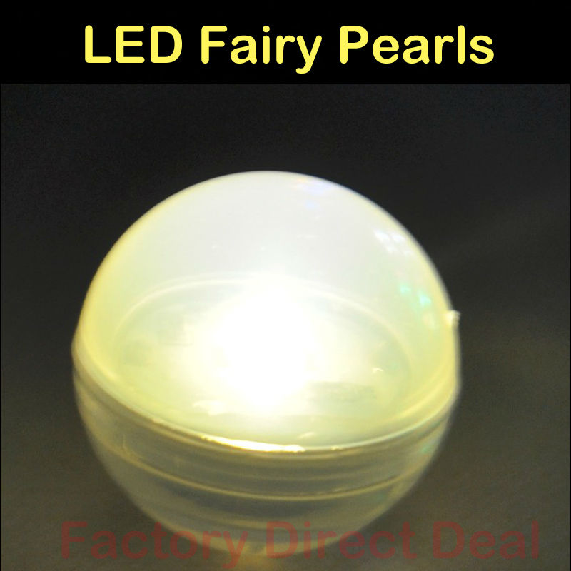 12Pcs Fairy Pearls LED Balloon Lamp LED Ball Lights For Paper Lantern Balloon Wedding Party Floral Decoration Holiday Light Lamp