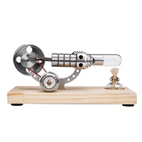 Delicate Simple Bootable Stirling Engine Model Micro External Combustion Engine Model