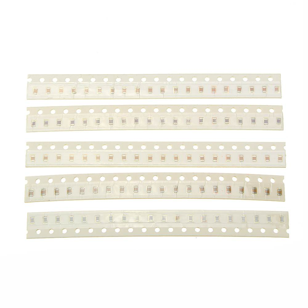 720pcs 36values 1PF-1NF-100NF-10UF 0805 SMD Capacitor assorted kit Electronic