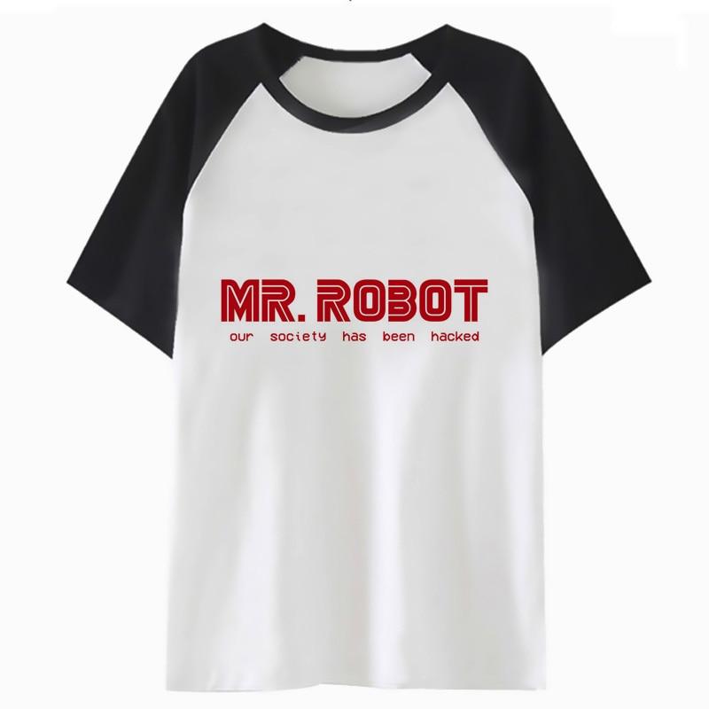 mr robot t shirt top hop funny for t-shirt harajuku streetwear tee hip male clothing tshirt men I3885