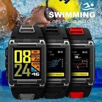 COXRY плавательные спортивные часы GPS Смарт часы Для мужчин компас Bluetooth умные часы для бега Водонепроницаемый монитор сердечного ритма Для му