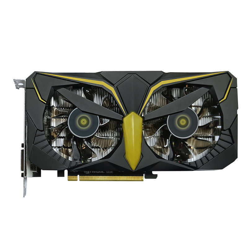 Asl Video Card Geforce Gtx1050 Warhawk 2Gb 128Bit Gddr5 Nvidia 7008Mhz 1354-1455Mhz Pci Express 3.0 Image Card For Gaming/Eth