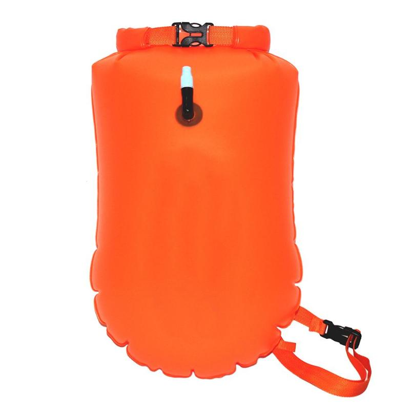 Inflatable Flotation Bag Pvc Waterproof Thickened Swimming Buoy Backpack Safety Float Air Bag Drifting Prevent Drowning Package