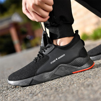 681c827771f Zapatillas de deporte ligeras transpirables para Hombre Zapatos  vulcanizados para Hombre 2019 nuevos Zapatos de malla para Hombre
