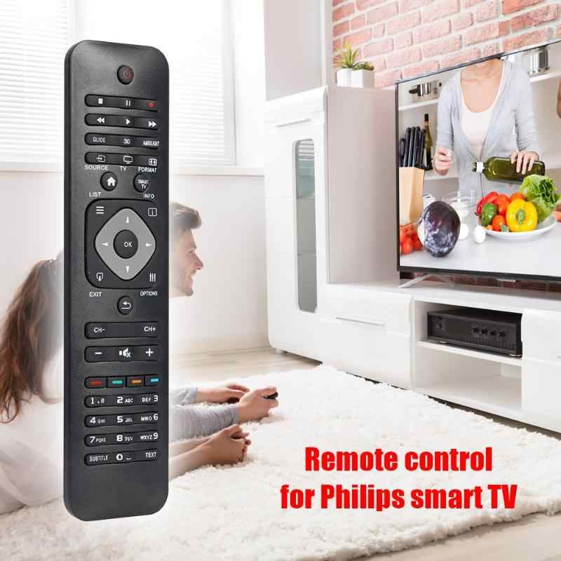 IR รีโมทคอนโทรลสำหรับ Philips LED/LCD 3D สมาร์ททีวี Dedicated เปลี่ยนครอบคลุมคุณสมบัติเดิม REMOTE