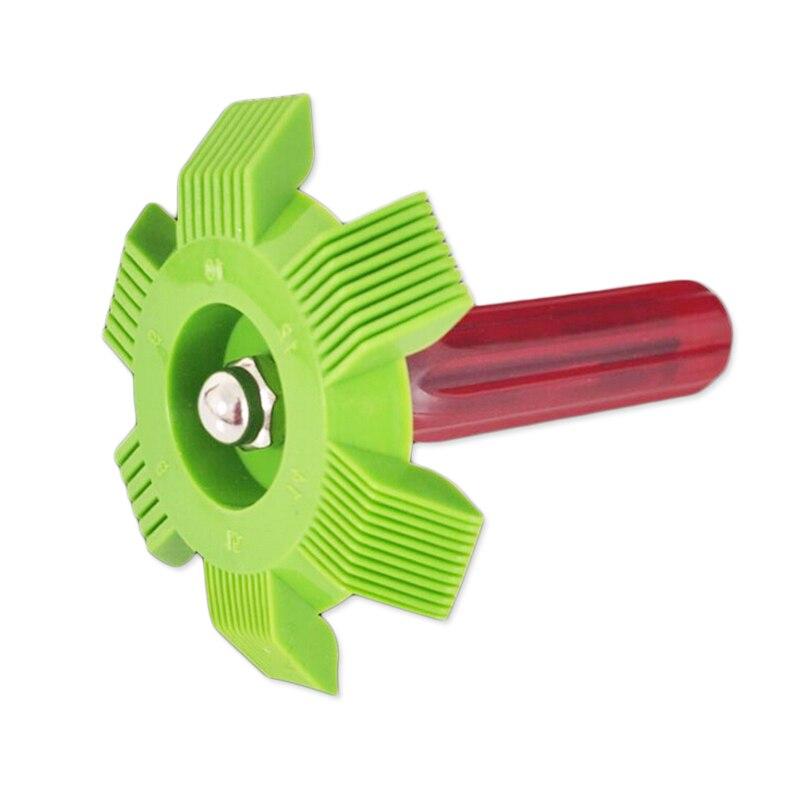 Green AC Radiator Evaporator Fin Straightener Comb Rake D