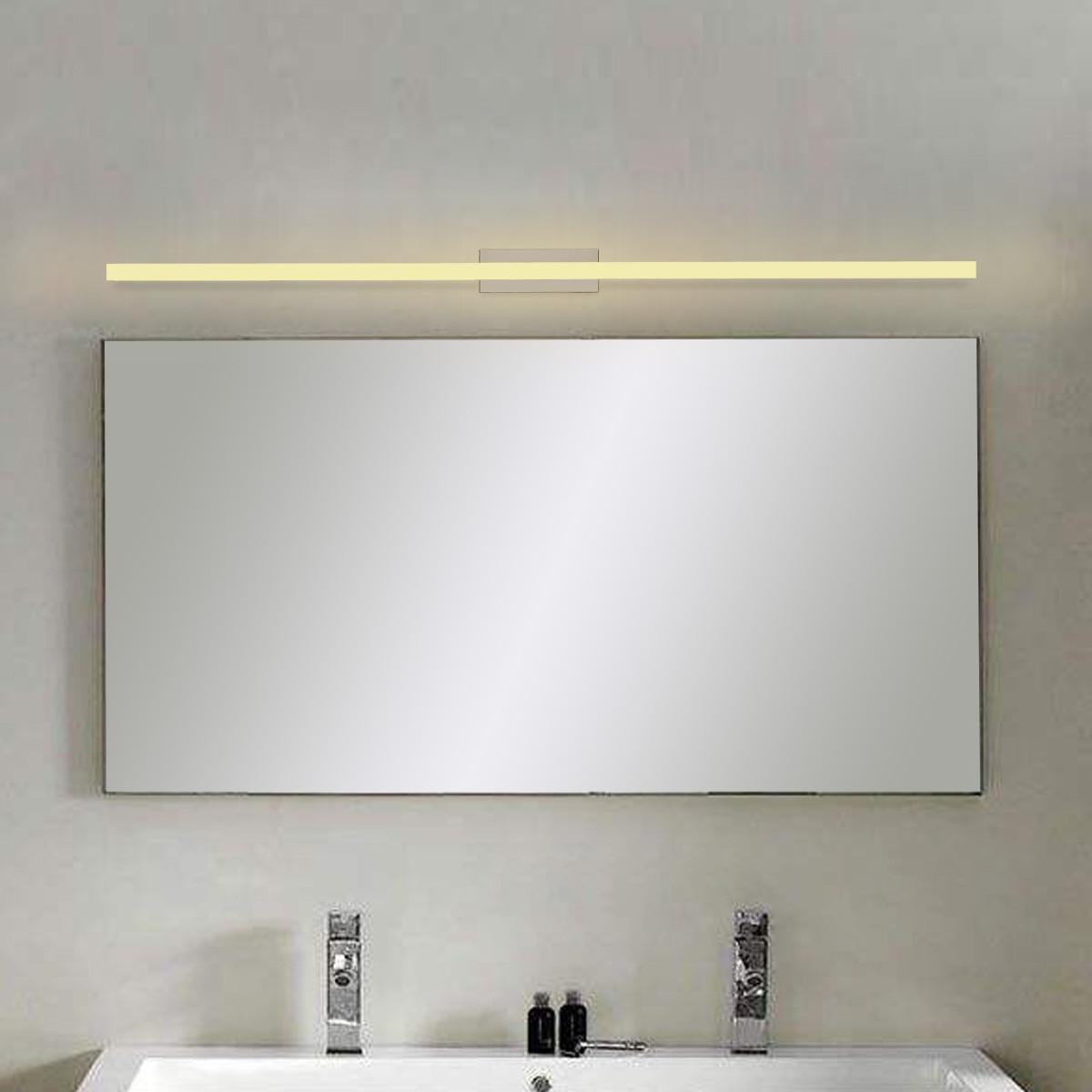 LED miroir avant lampes moderne salle de bains toilette vanité mur maquillage lumière 80 cm 14 W LED étanche lampe 1120LM 85-265 V