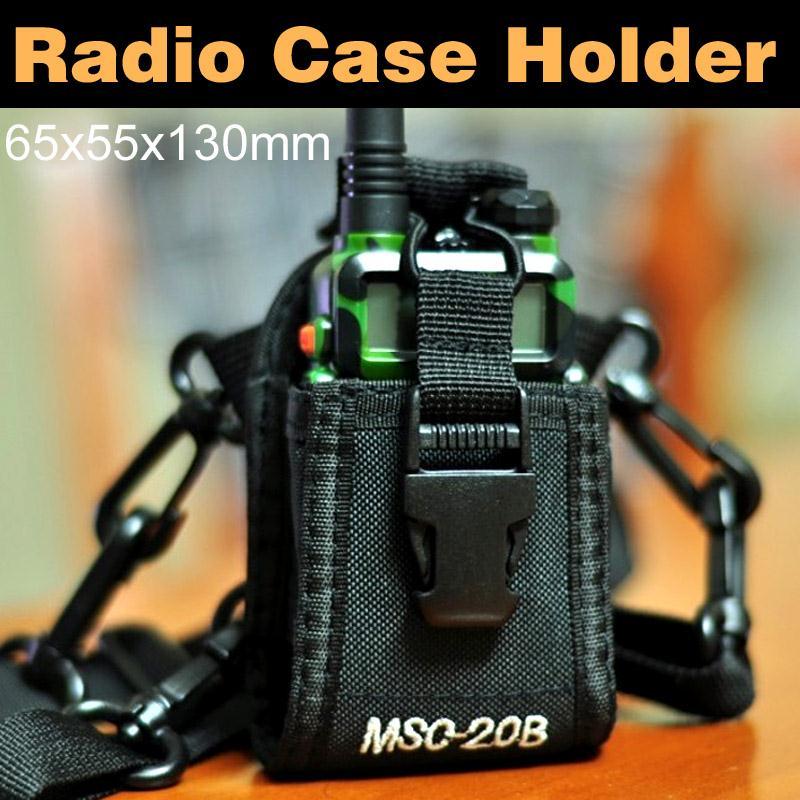 Protection Bag Case For Baofeng UV-5R BF-888s Kenwood Yaesu Icom Walkie Talkie Two Way Radio MCS-20B