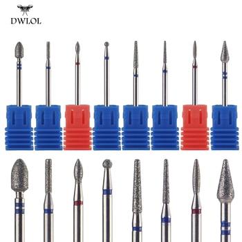 1pcs Diamond Nail  Drill Bit Cuticle Cutter for Manicure Files Electric Pedicure Machine Device Tool - discount item  29% OFF Nail Art & Tools