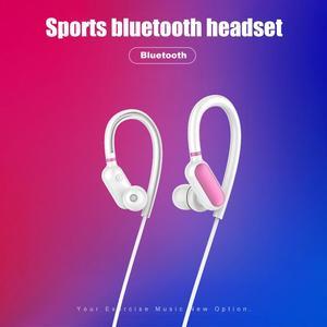 Image 5 - المحمولة سماعة 4.2 Bluetooths للتوصيل الأذن هوك سماعات الأذن المضادة للانزلاق العرق واقية ستيريو Hd باس الرياضة الموسيقى الأجهزة مع Mic