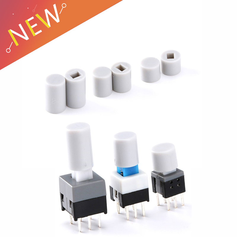 100PCS/Lot Small Switch Button Cap Can Match With5.8*5.8MM 7*7MM 8*8MM 8.5*8.5MM Button Switch Micro Switch Button