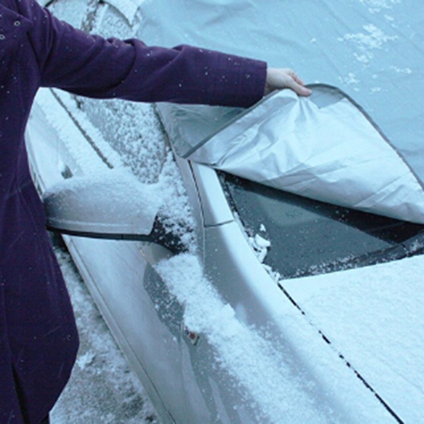 Zeepin Auto Auto Deckt Winter Sumer Schnee Eis Sonne Staub Frost Volle Schutz Windschutzscheibe Abdeckung Für Univerak Auto Vw Passat b6