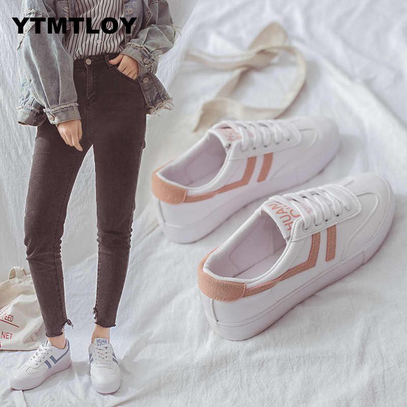 Women Fashion Vulcanized Tenis Feminino Zapatos De Mujer Slimming White Sneakers Casual Breathable Summer Shoes Woman Walking