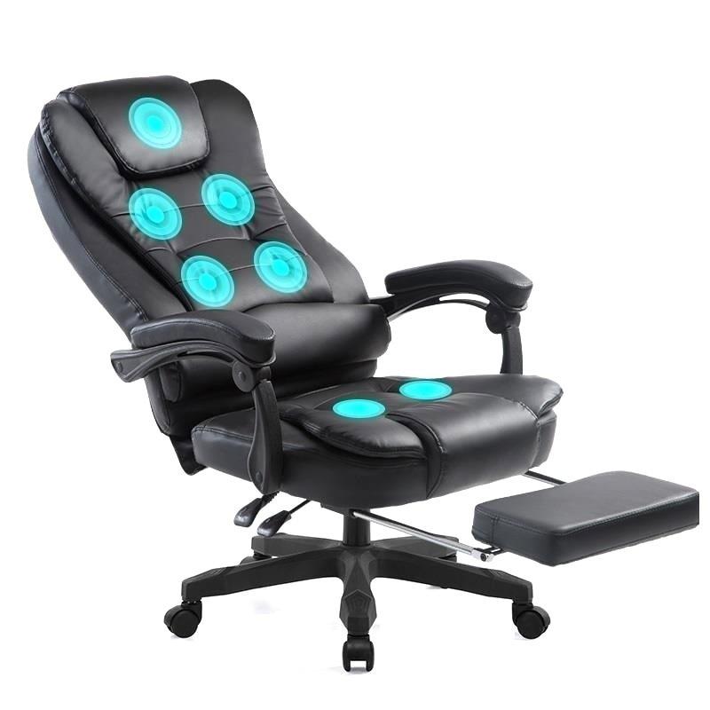 Chefe Massagem Banquinho Taburete Gamer Stoelen Bureau Meuble Sillon Stoel Cadeira Poltrona De Couro Computador Lol Silla Cadeira de Jogos