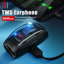 Hisomone TWS Bluetooth Headphones Wireless Earphones Mini Ea