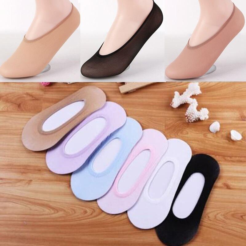 10 Pairs Ladies Women Invisible Footsies Shoe Liner Trainer Ballerina Boat Socks 2019 Thin Socks Women